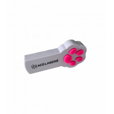 ACE Lasers® Wit Huisdier Laser Rode Stip